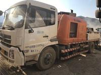 2014年10014中联重科车载泵,东风天锦底盘