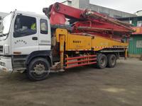 2011年6月40米五节臂E系列三一重工泵车,五十铃底盘
