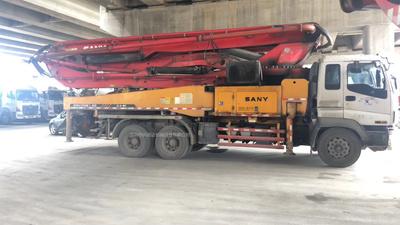 2010年三桥46米三一重工泵车,五十铃底盘