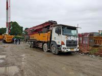 广东湛江2012年6月份52米三一重工泵车,日野700底盘