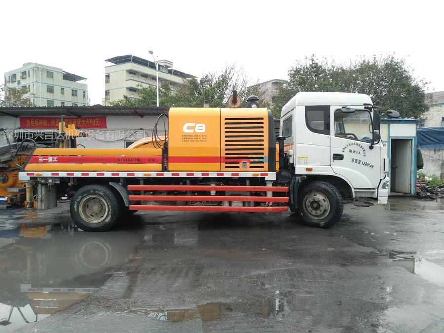 2014年三一重工10020國四c8車載泵,三一自制底盤