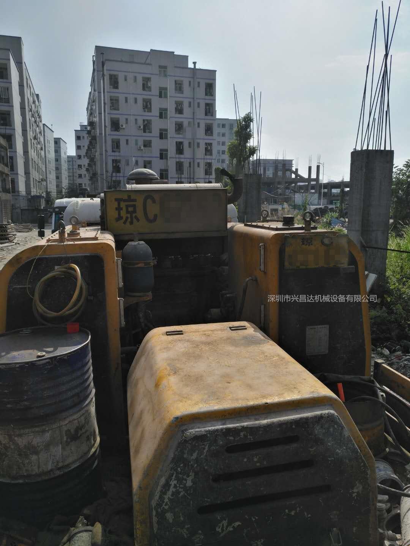 海南户深圳看车2012年9018三一重工车载泵,东风天锦底盘