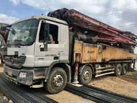 广东深圳2013年上牌未过户56米三一重工泵车,奔驰底盘