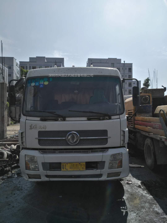 广东深圳2012年9018三一重工车载泵,东风天锦底盘