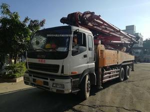 2009年12月46米三桥三一重工泵车,五十铃底盘