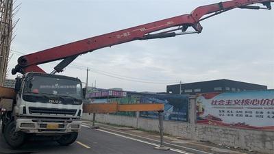 广东深圳2013年四桥56米C8系统三一重工泵车,五十铃底盘