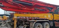 广东深圳2012年年底46米三一重工泵车,五十铃底盘
