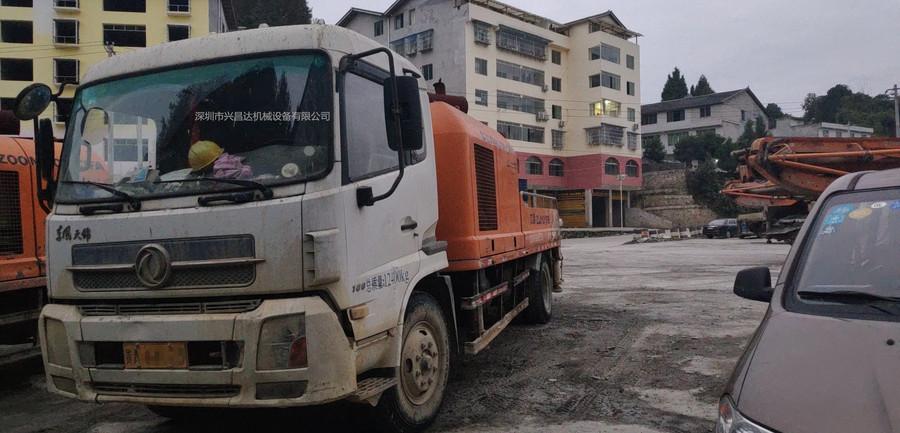 深圳一批中聯重科泵車和車載泵,有2012、2013和2014年的