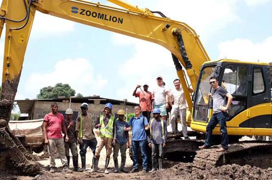 中联重科多年来积极参与非洲基建项目