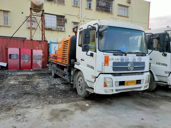 深圳3台2014年底3月份10020三一重工车载泵,东风天锦底盘