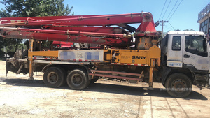 2010年底37米三一重工泵车,五十铃底盘