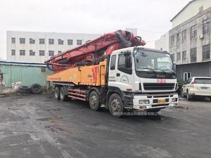 2014年2月56米C8龙象共舞六节臂三一重工泵车,五十铃底盘