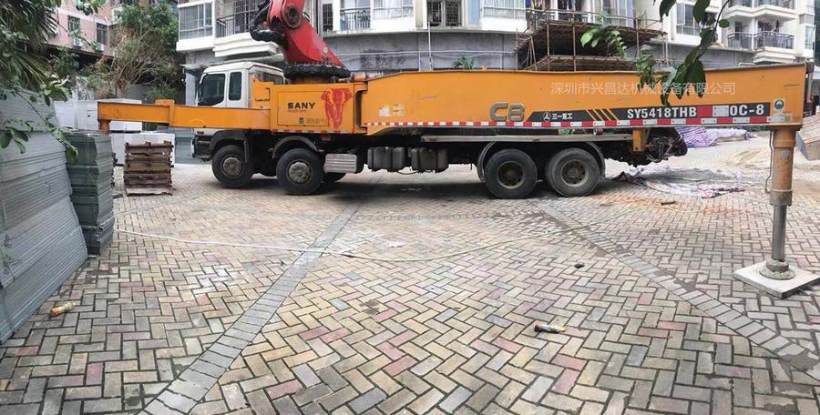 2013年56米三一重工泵车,龙象共舞C8系统,五十铃底盘