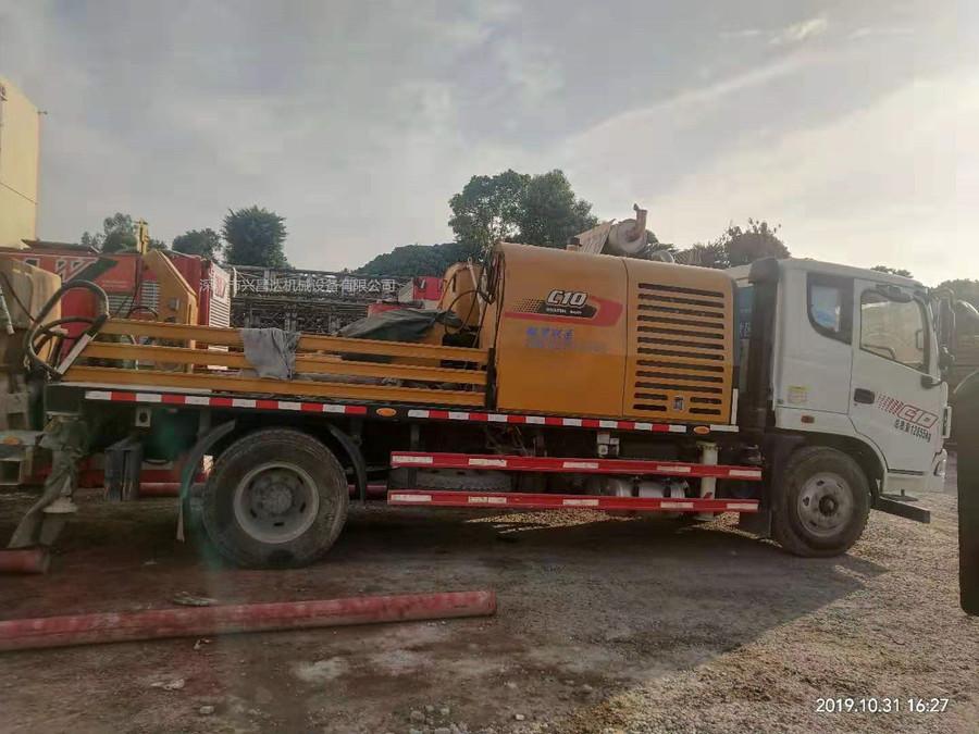 深圳2019年6月最新款国五+三一重工车载泵10020,C10系统