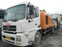 廣東深圳2013年上牌中聯重科10018車載泵,東風天錦底盤