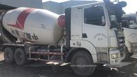 一批2013年三一重工攪拌車,日野發動機,大12方罐裝14方