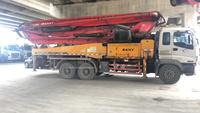 2010年三桥46米三一重工泵車,五十铃底盘