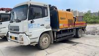 江蘇南京2012年9018和2015年10020三一重工混凝土車載泵
