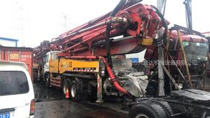 2008年四桥46米X支腿三一重工泵車