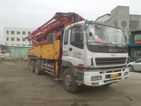 北方车广东户2009年年底43米三一重工泵車,五十铃底盘