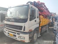 深圳2009年底43米三一重工混凝土泵車,五十鈴底盤