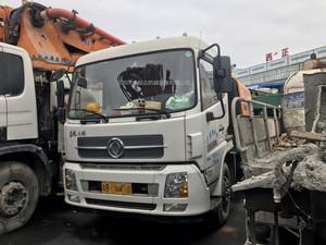 2015年國四三一重工c8車載泵,東風天錦底盤