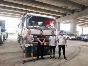已售出:三一重工混凝土泵車