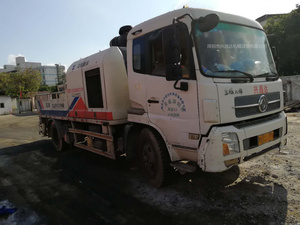 2012年5月中聯重科車載泵9014,東風天錦底盤
