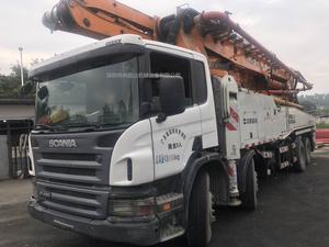 2011年底廣東牌中聯重科Cifa52米泵車