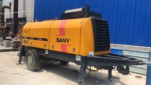 2011年出廠三一重工柴油拖泵,工作幾千方