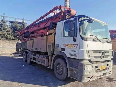 江苏南京2019年52米三一重工泵車,奔驰底盘