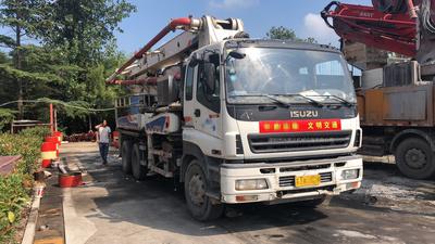 2010年37米中聯重科泵車,五十铃底盘
