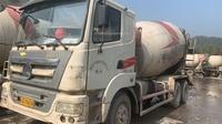 浙江杭州20台2013年6月大12方三一重工攪拌車,日野發動機