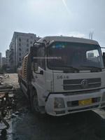 廣東深圳2012年9018三一重工車載泵,東風天錦底盤