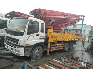 2009年底2010年初国三46米三桥三一重工泵車,五十铃底盘