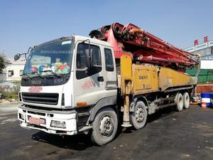 2011年6月52米三一重工泵車,五十铃底盘