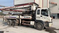 廣東深圳2010年37米中聯重科混凝土泵車,五十鈴底盤