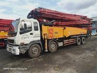 深圳2013年6月底C8国三6节臂56米三一重工泵车,五十铃底盘