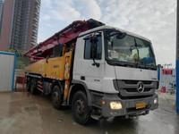 广东深圳2013年56米三一重工泵車,奔驰底盘