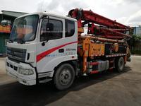 2014年年底三一重工V8城鎮先鋒23米短臂架泵車,三一底盤