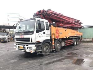 2014年绿标56米c8三一重工泵車,五十铃底盘