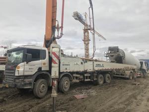 2011年中聯重科52米cifa泵車,斯堪尼亞底盤