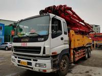 2012年46米三一重工泵車,五十铃底盘