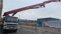 广东深圳2013年四桥56米C8系统三一重工泵車,五十铃底盘