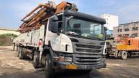 深圳一批中聯重科泵車和车载泵,有2012、2013和2014年的