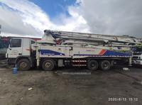 2012年8月52米六节臂中聯重科泵車,奔驰底盘