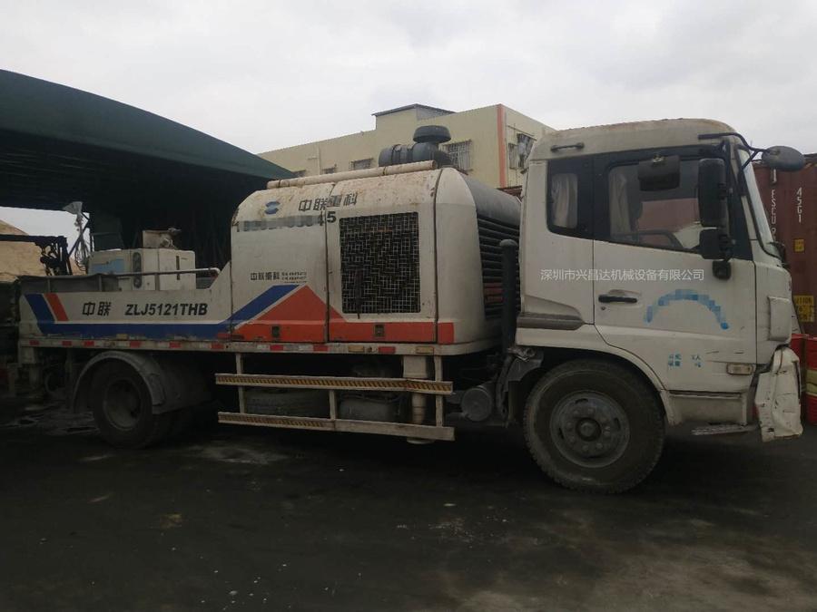 廣東深圳2011年9014中聯重科車載泵,東風天錦底盤