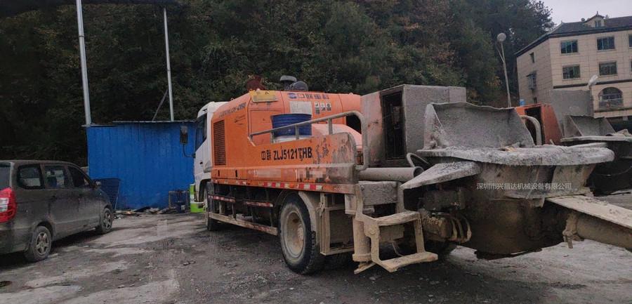 深圳一批中联重科泵车和车载泵,有2012、2013和2014年的