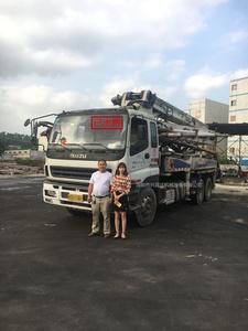 已售出:中聯重科泵車