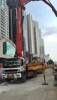 2010年11月份五节臂43米三一重工泵車,五十铃底盘